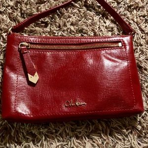 Red fabulous Cole Haan small cross body bag!